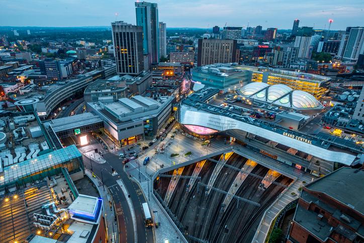 Birmingham Aerial View