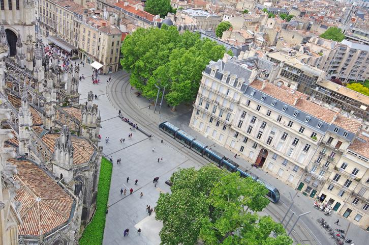 Bordeaux aerial