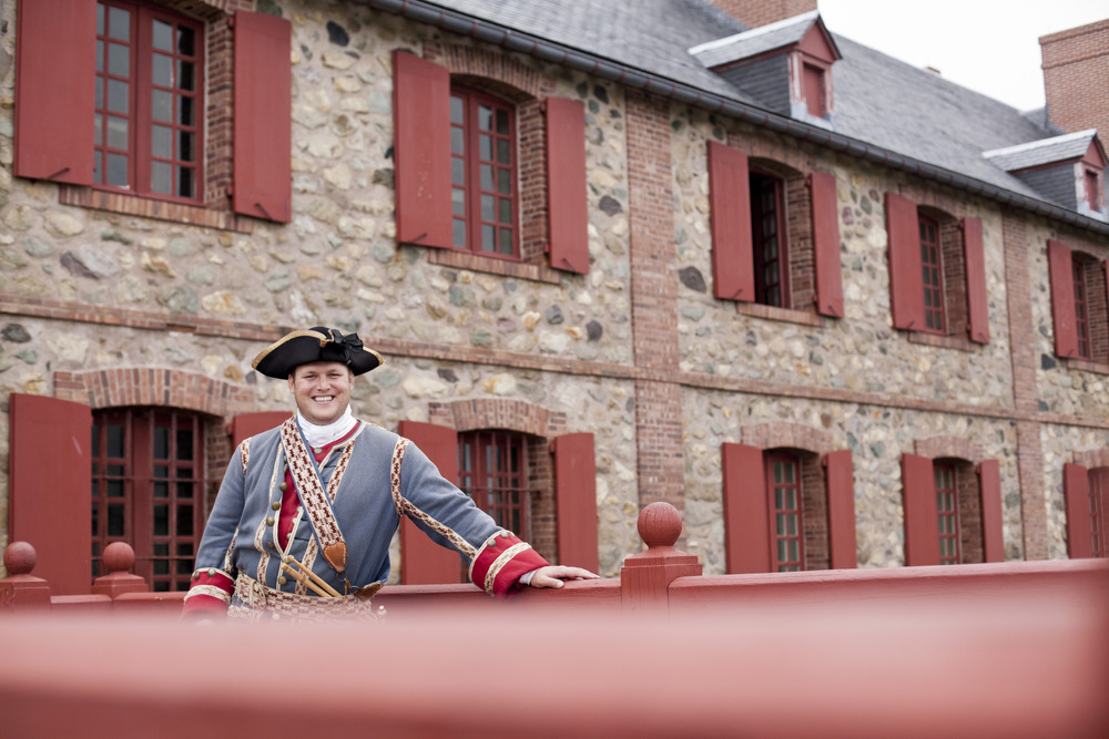 Explore the Fortress of Louisbourg Atlantic Canadas Lost Citadel Man 2