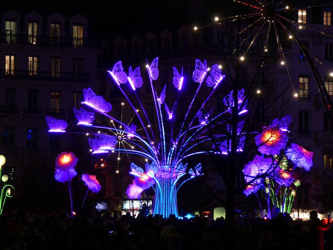 Fête des Lumières de Lyon Place Bellecour