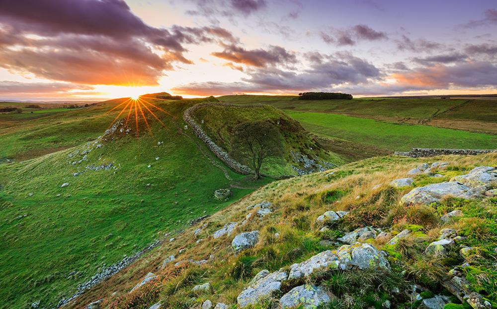 Hadrians Wall Tyne and Wear