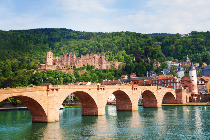 Heidelberg castle and bridge