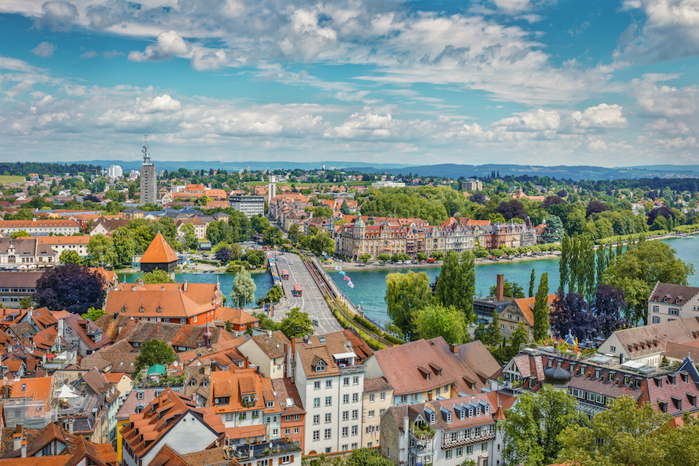 Konstanz cityscape