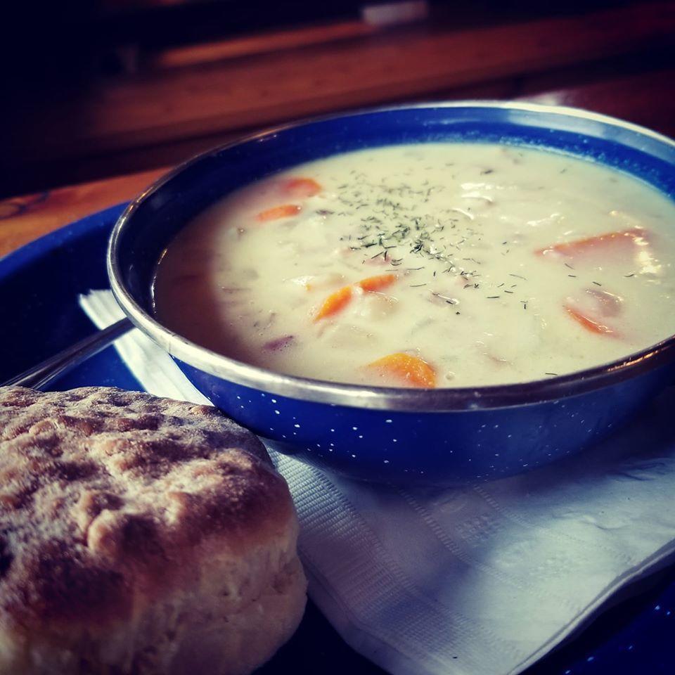 Local food scene in Yellowknife