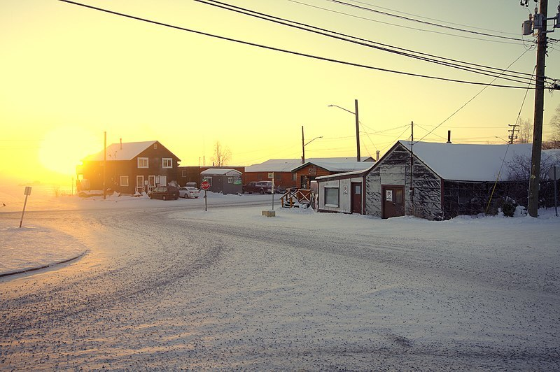 Old Town Yellowknife destination