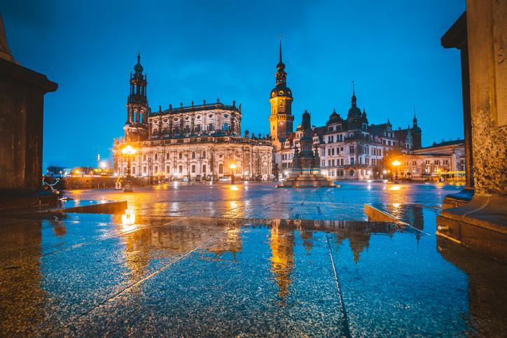 Rain Dresden