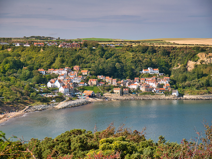 Runswick Bay Yorkshire