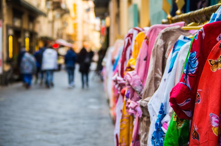 Shopping in Sorrento