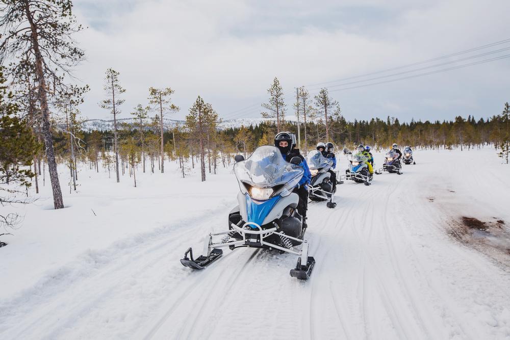 Snowmobile in Pembroke Ottawa ON Image 3