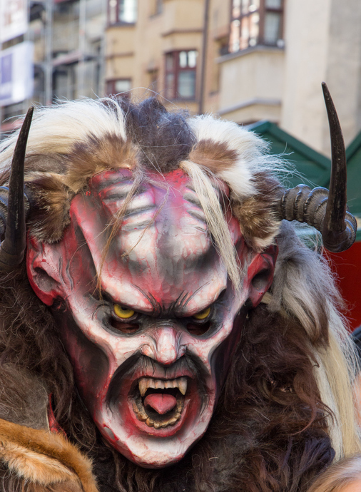 Where is Krampusnacht celebrated