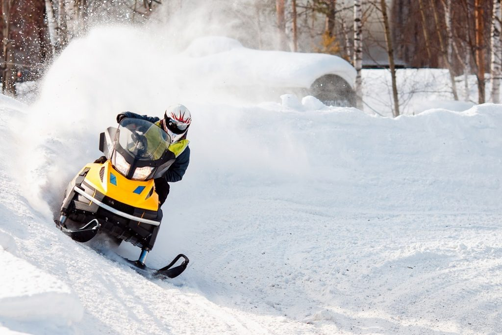 Acadian Snowmobile