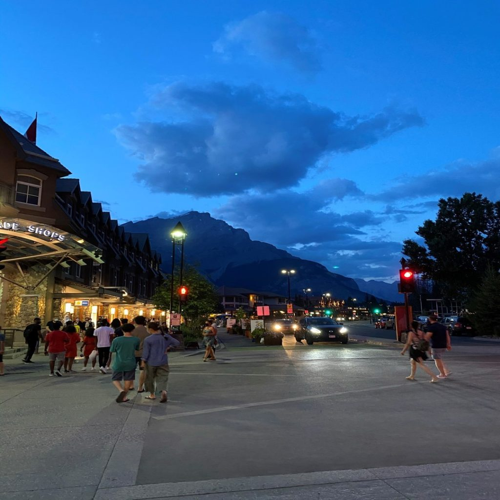 Banff Avenue Banff Alberta