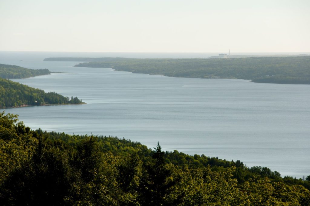 Bras d Or Lake Cape Breton Nova Scotia