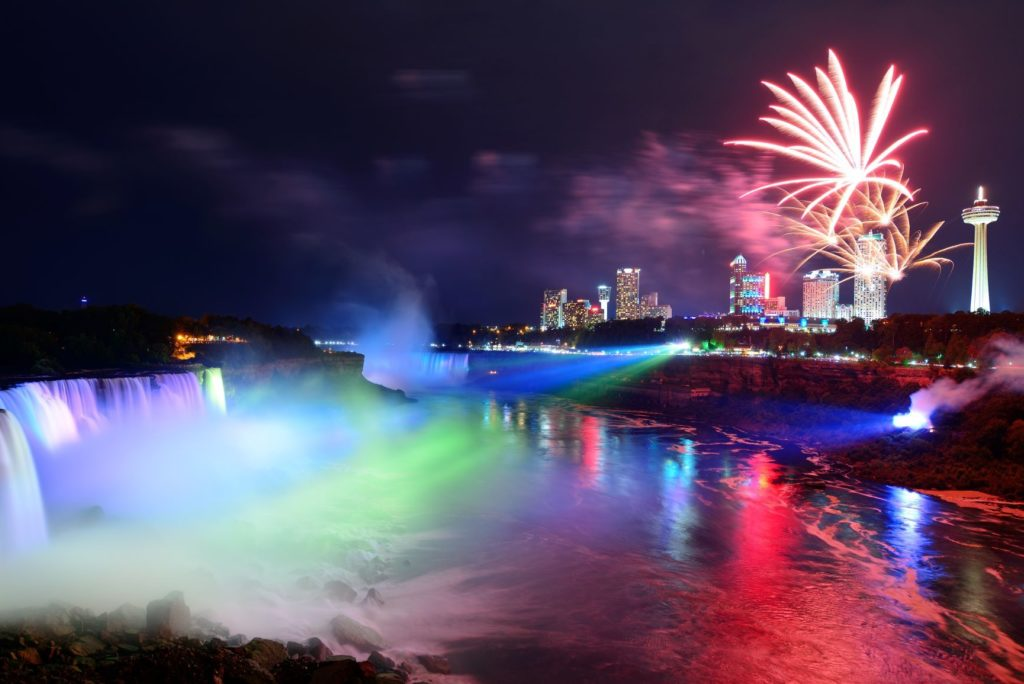 Canada Day Lights