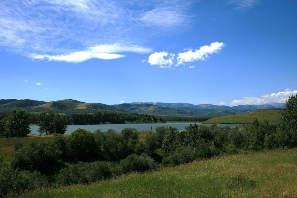 Chain Lake Cowboy Trail Alberta