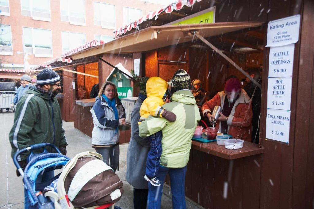 Chriskindl Food Vendor