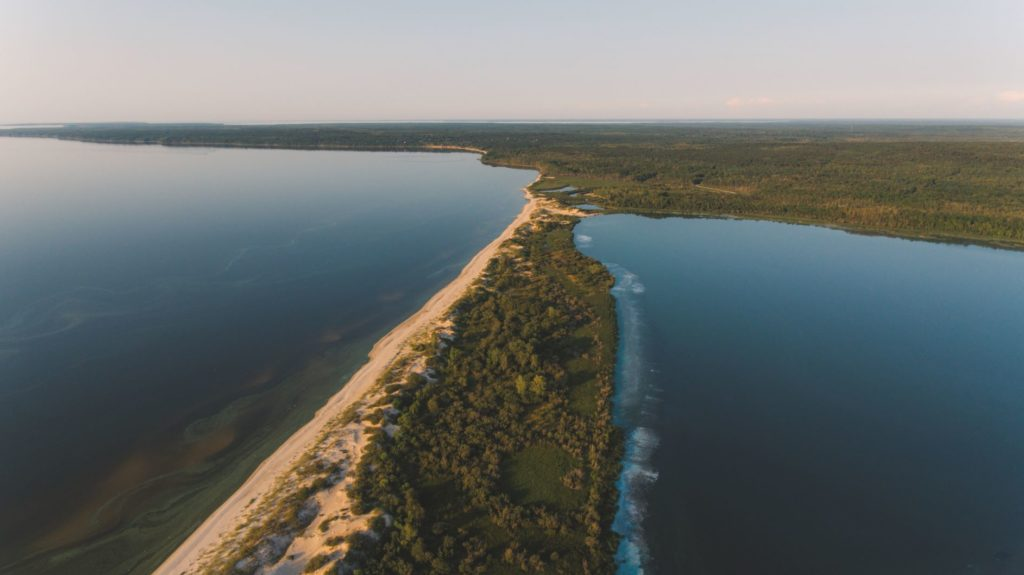 Grand Beach Provincial Park Manitoba