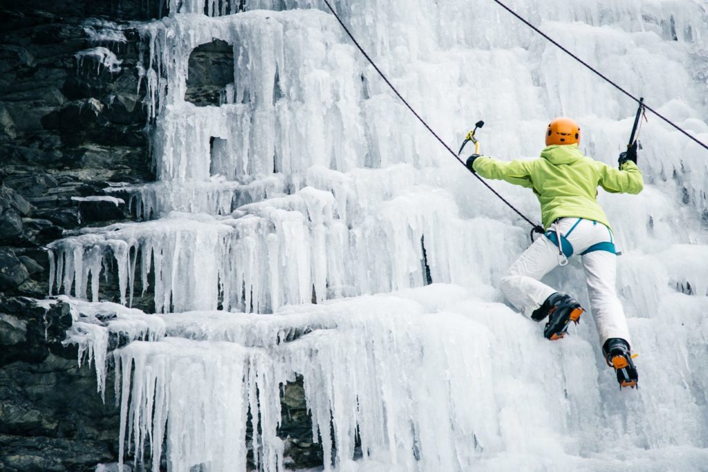 Ice Climbing Thunder Bay