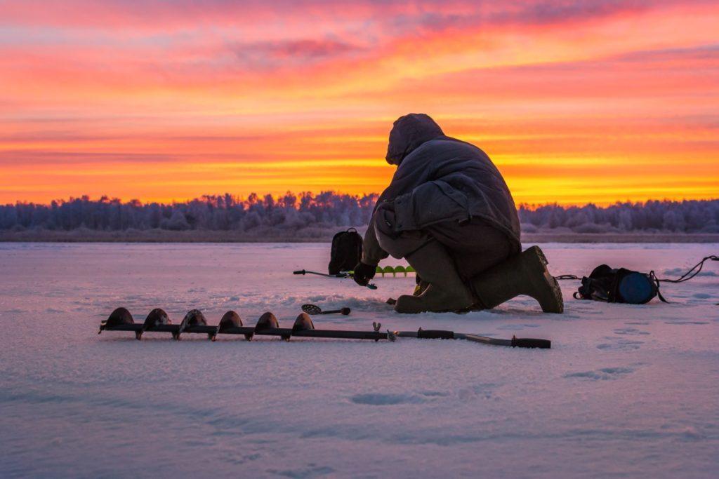 Ice Fishing on Ottawa River Ottawa ON Image 4 1