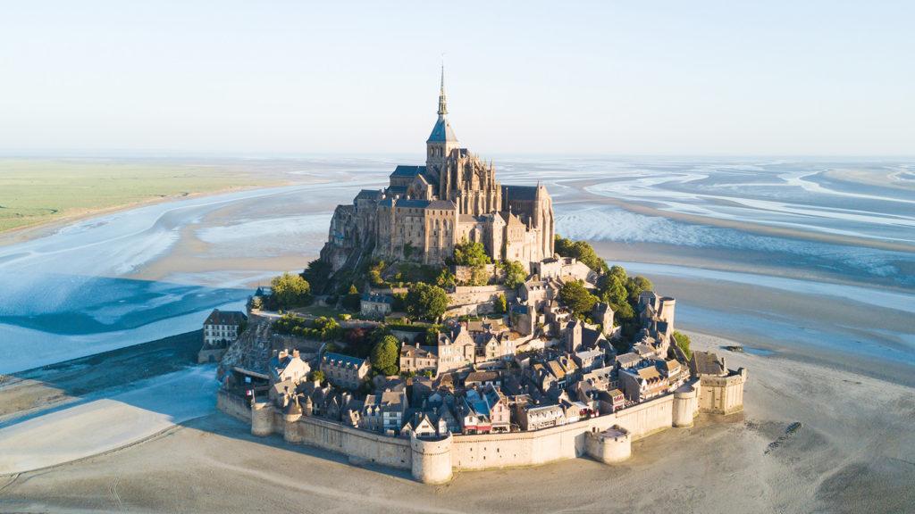 Le Mont Saint Michel Island