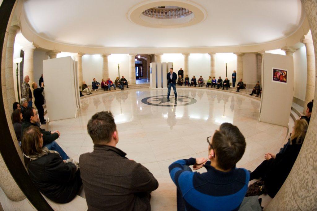 Manitoba Legislature Hermetic Code Tour Dan Harper