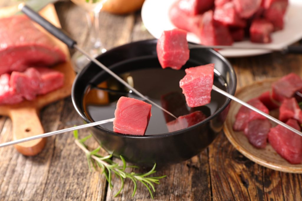 Meat Fondue Alberta