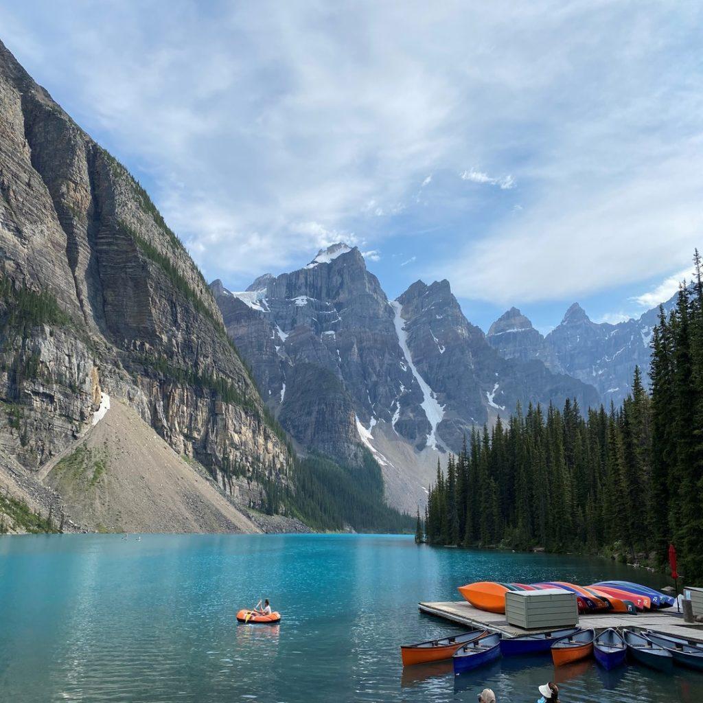 Moraine Lake Banff Alberta