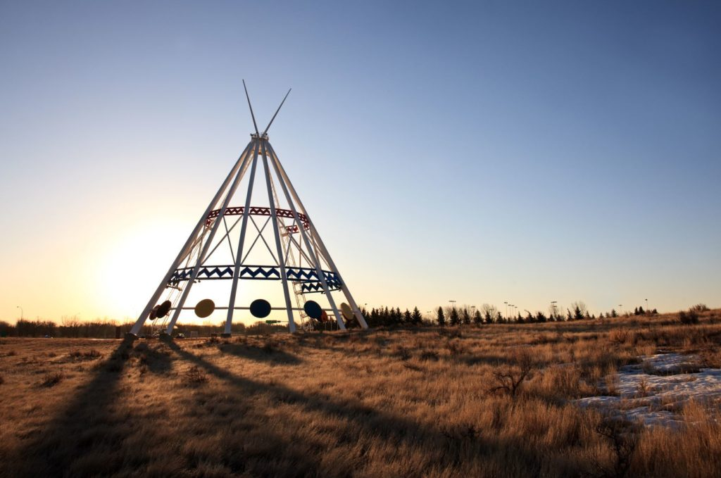 Saamis Teepee Southern Alberta Day Trips