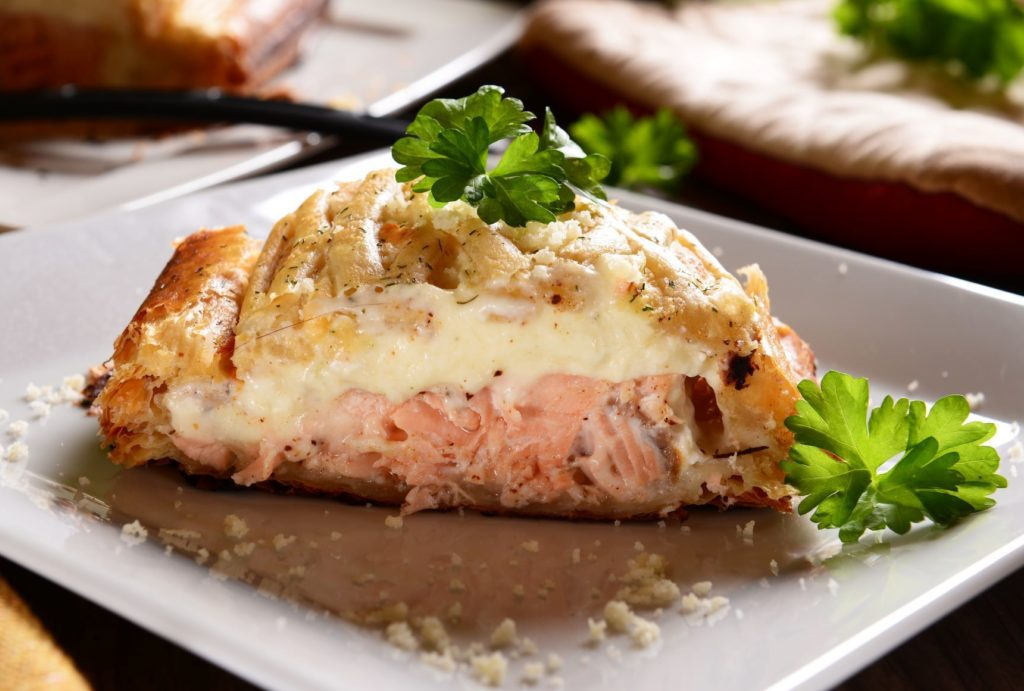 Salmon Pie Quebec