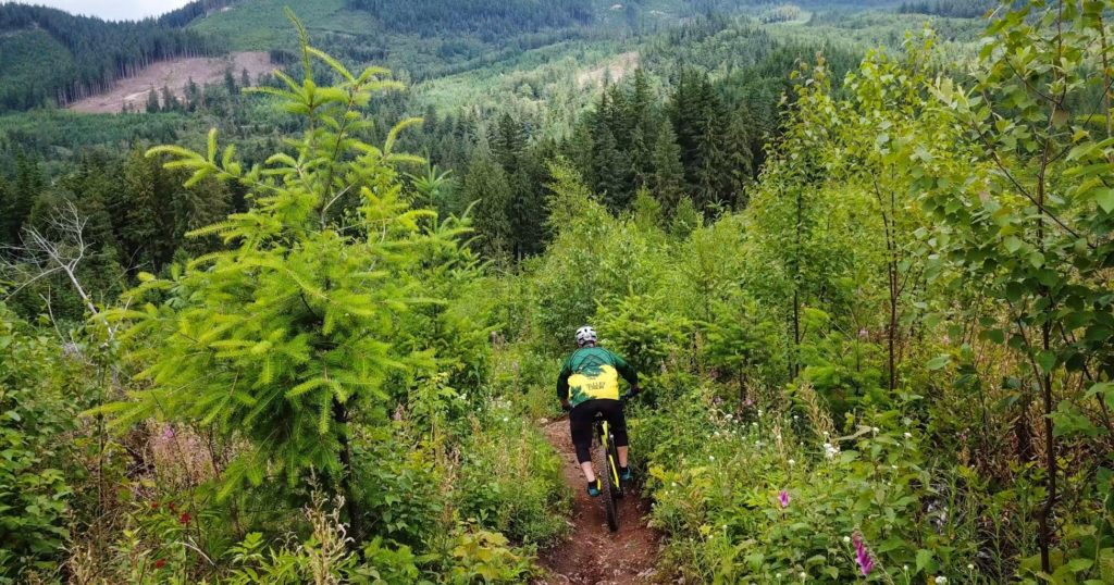 Sumas Mountain Biking