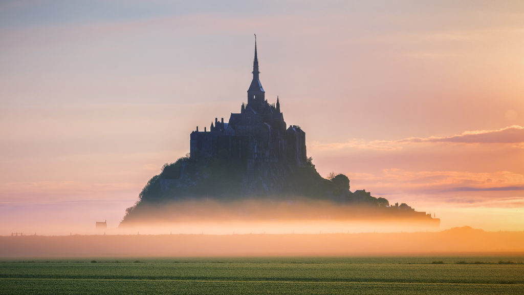 Sunrise Mont St Michel