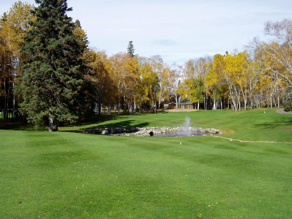 Waskesiu Golf Course Saskatchewan