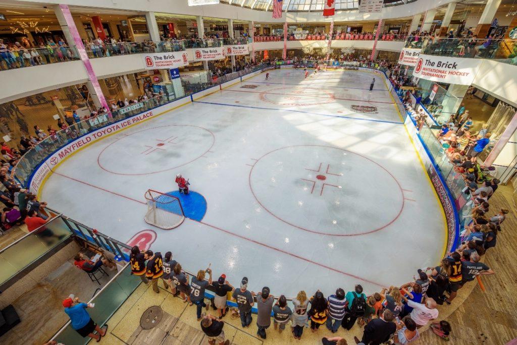 West Edmonton Mall Skating Rink