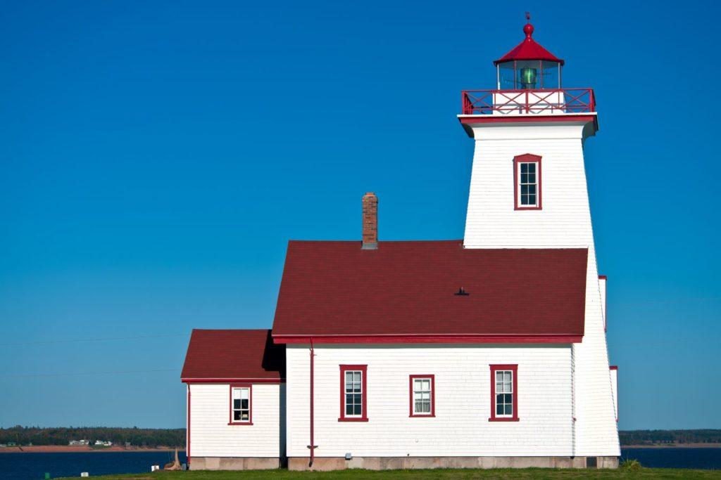 Wood Islands PEI Lighthouses