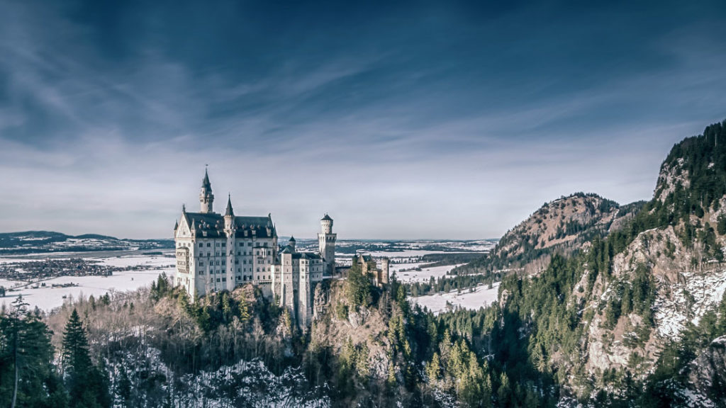 Neuschwanstein castle disney