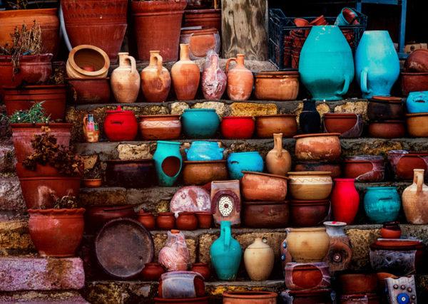 Alacati markets