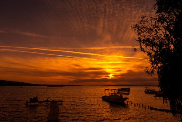 Alacati sunset