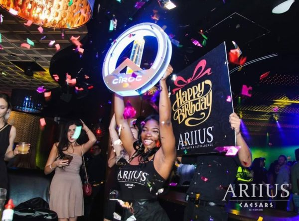 Ariius Nightclub Bottle Service