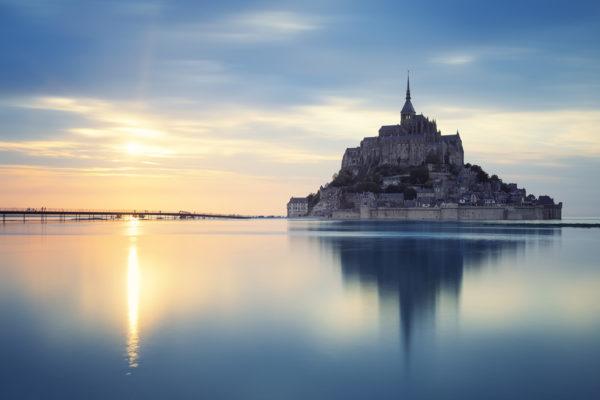 Mont St Michel Sunset