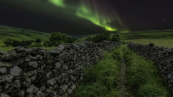 Northern Lights in Yorkshire