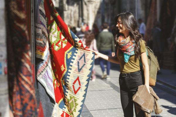 Rugs in the Grand Bazaar