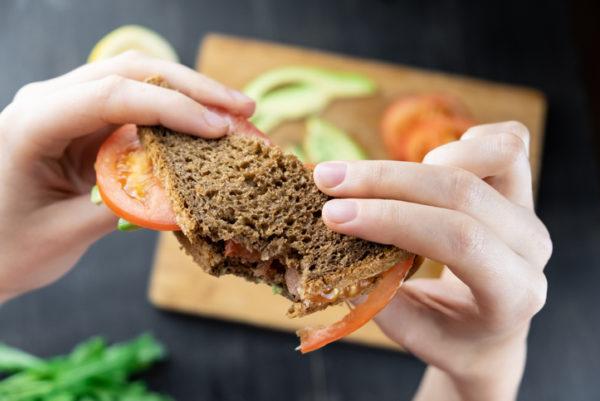 Salad sandwich stuttgart