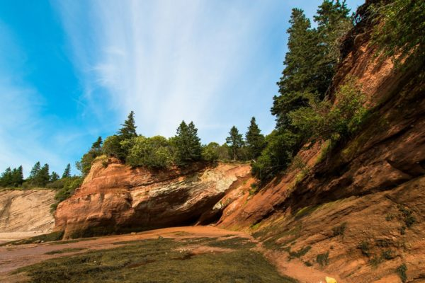 St Martins Sea Caves Bay of Fundy