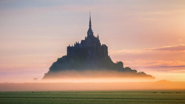 Sunrise Mont St Michel