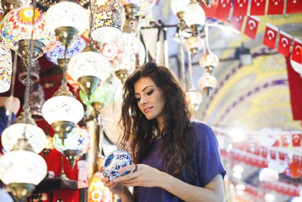 Women in the grand bazaar