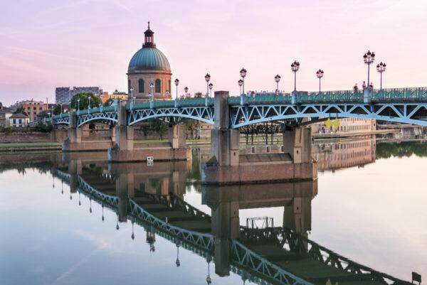 Toulouse st pierre bridge