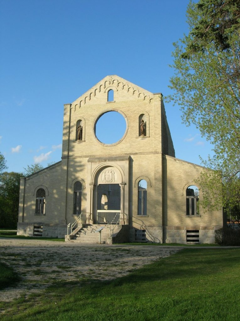Trappist Monastery Ruins Secret Places in Manitoba