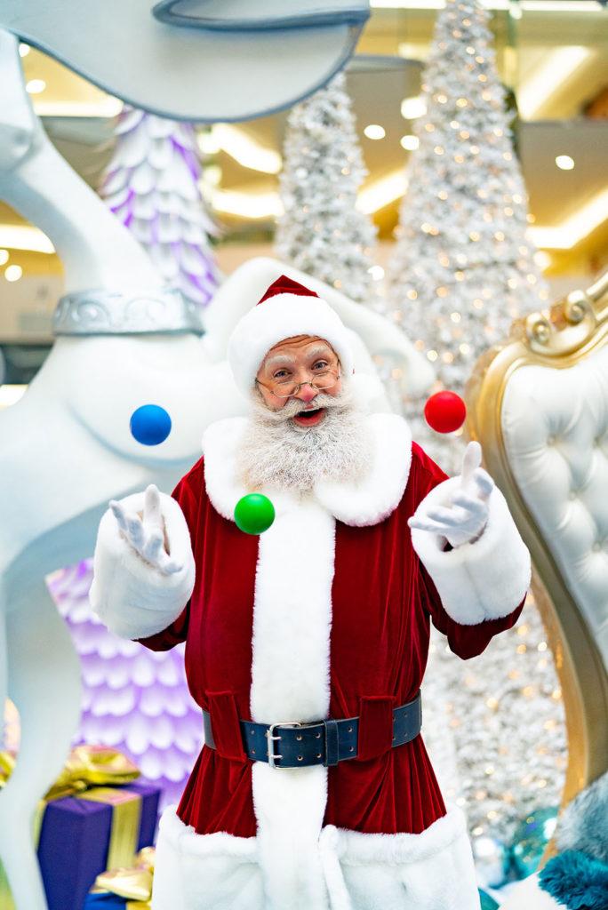 West Edmonton Mall Santa