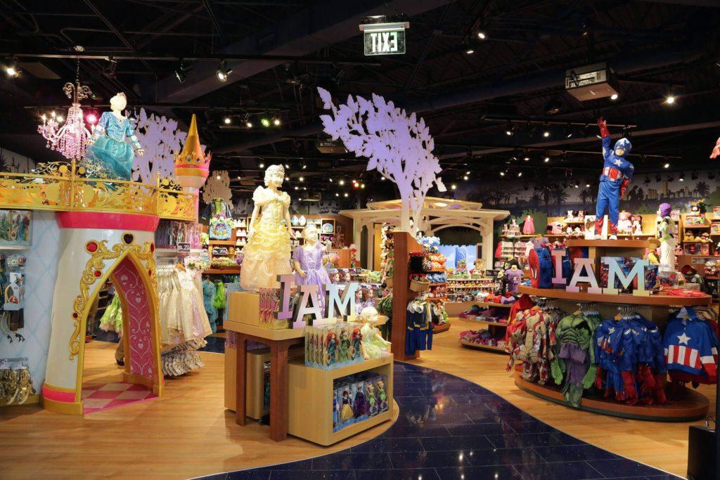 3 Disney Store Interior