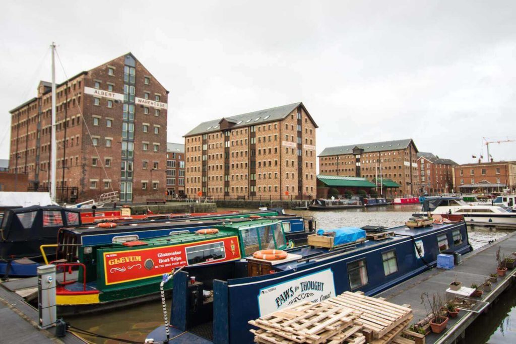 Alice Through The Looking Glass: Gloucester Docks
